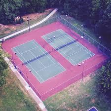 lighted tennis courts near me tennis church run community recreation