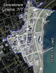 aerial maps aerial map downtown geneva new york 14456