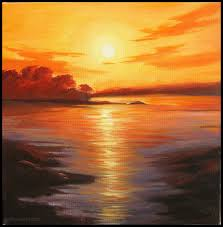 sunrise painting art 8 full image