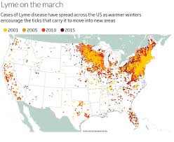 Time Zone Map For Usa Lyme Disease Is Set To Explode And We Still Don U0027t Have A Vaccine