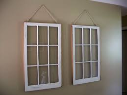 stunning interior with hanging diy window frame also string as