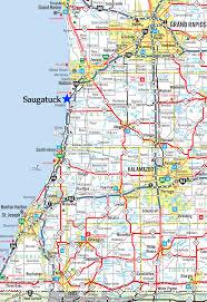 Michigan Map by Saugatuck Michigan Map Michigan Map