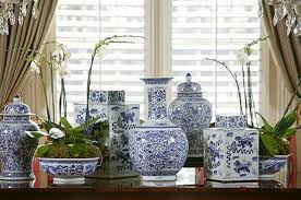 vignette design inspired by blue and white porcelain