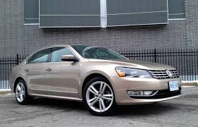 car review 2015 volkswagen passat tdi highline driving