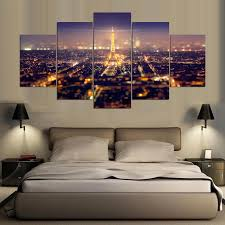 Eiffel Tower Accessories For Bedroom Online Buy Wholesale Eiffel Tower Canvas Painting From China