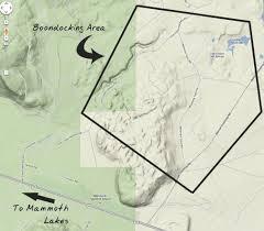Blm Maps Boondocking Site Review U2013 Creek Benton Crossing Whitmore Tubs