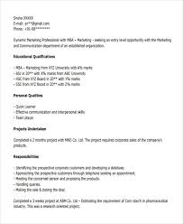 Resume Title Examples For Mba Freshers by 14 Best Fresher Resume Templates Free U0026 Premium Templates