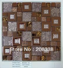 pleasing metallic mosaic bathroom tiles for your home interior