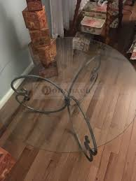 handmade coffee table handmade forged iron glass coffee table 36 inch dornbach