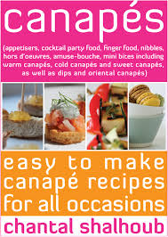 canapés ebook appetisers cocktail party food finger food