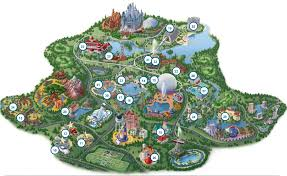 Orlando Parks Map by Every Moment Red Letter U2022 A Quick Lesson About Orlando Theme
