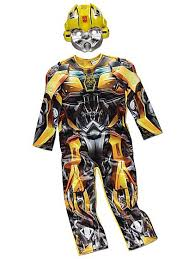 transformers bumblebee fancy dress costume kids george