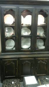 china cabinet black china cabinet vintage painted in latex and