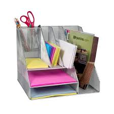 Ultimate Desk Organizer Ultimate Desk Organizer Silver Mesh By Design Ideas 39 49