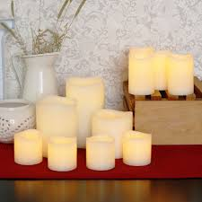 decor tips decorating interior ideas and led pillar candles for