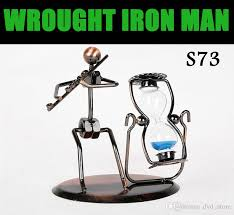 cheap desk ornament wrought iron made arts and