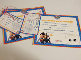 paw patrol pet adoption cards free printable nickjr paw