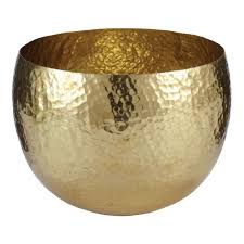 Gold Home Decor Accessories Furniture Stunning Image Of Gold Tealight Hammered Metal Bowls As