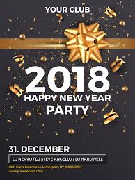happy new year invitation new year party invitation template for social media