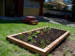 raised bed vegetable garden design attractive creative beds box