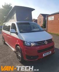 vw camper van for sale for sale vw transporter t5 1 camper van white and red two tone