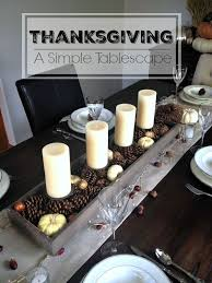 a simple thanksgiving tablescape thanksgiving inspiration and