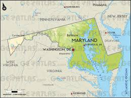 Washington Maps by Geoatlas Us States Maryland Washington District Map City