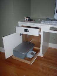 computer desk with printer storage great storage idea for printer i like the idea of the pull out