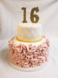 sweet 16 cakes fondant ruffles and quilts celebration cake from cinotti s bakery