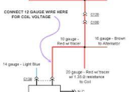 coil to distributor wiring diagram wiring diagram