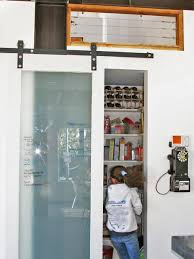 Barn Style Sliding Door by Sliding Door With Chalkboard For The Kitchen Pantry Home Furniture