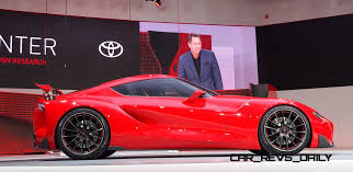 Ft 1 Toyota Price Surprise Drop Dead Toyota Ft 1 Supra Joins Greatest Car Show