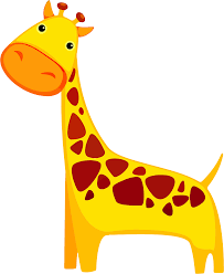 cartoon giraffe image