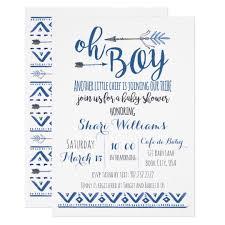 boy baby shower invitations tribal baby shower invitations oxyline cbff354fbe37