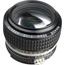 nikon nikkor 50mm f 1 2 ais manual focus lens nikon photo lenses