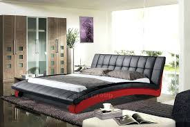 King Platform Bed Set Black King Platform Bed Brunofelixarts