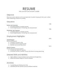 resume format for fresher resume for freshers simple sle resume format for freshers resume