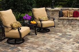 stone texture paver stone walkway tremron pavers paver patio