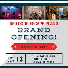 red door escape room reddoorescape twitter