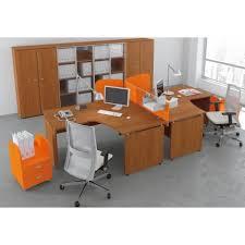 bureau compact bureau l compact 160 120 noyer manudom