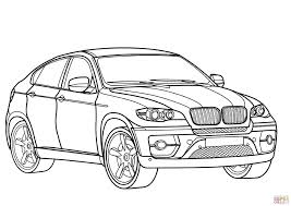 bmw x6 coloring page free printable coloring pages