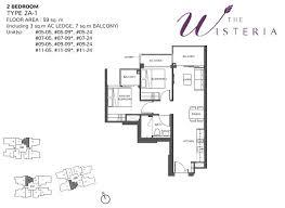 Wisteria Floor Plan 3 Bedroom Study The Wisteria