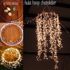 How To Fix Christmas Lights When Half Are Out Best 25 Hula Hoop Chandelier Ideas On Pinterest Hula Hoop Light