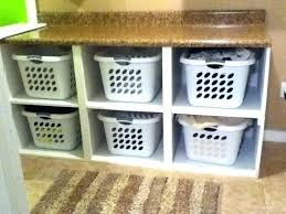 Laundry Room Basket Storage Laundry Storage Shelves Laundry Room Storage Diy Laundry Storage
