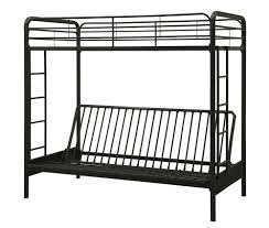 bedroom black metal futon bunk bed assembly instructions metal