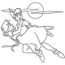 coloring gorgeous peter pan colouring coloring pages tinker