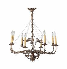 Candle Lit Chandelier Chandeliers And Wall Lights Collecting Guide Christie S