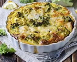 cuisine brocolis recette clafoutis au curry fromage blanc brocolis et poulet