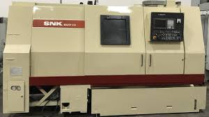 snk sut 10 cnc turning center lathe w fanuc 21t youtube