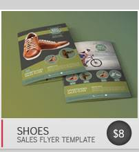 shoe sales flyer by blogankids graphicriver